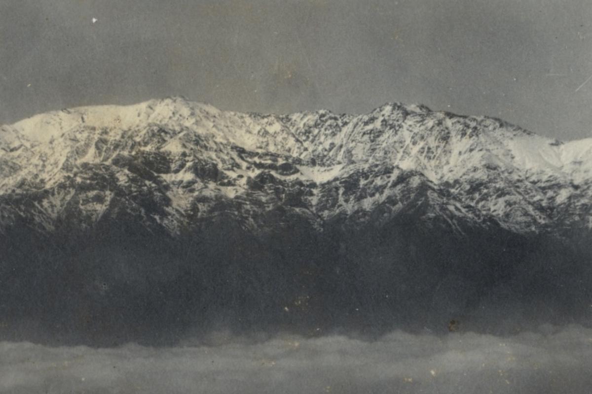 Cordillera De Los Andes Chile Para Niños Biblioteca