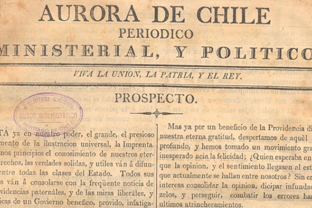 Aurora de Chile - Chile Para Niños
