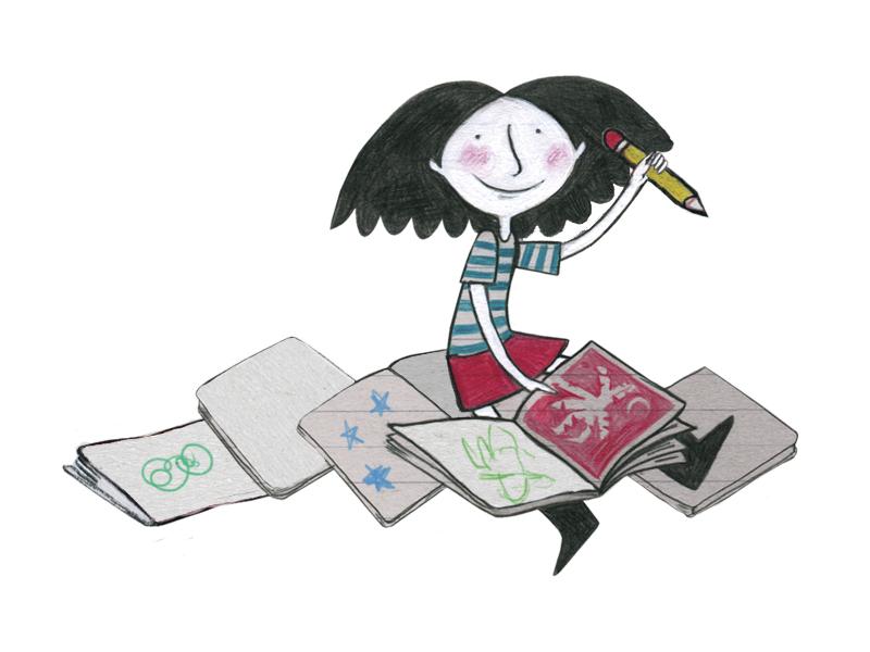 Pintando obras de arte - Chile Para Niños
